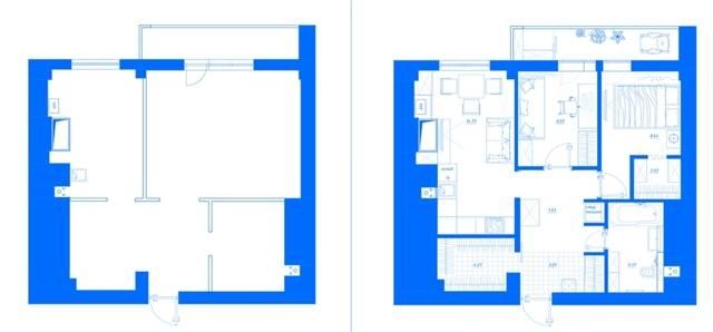 Как из однокомнатной квартиры сделать двухкомнатную   советы и рекомендации от специалистов