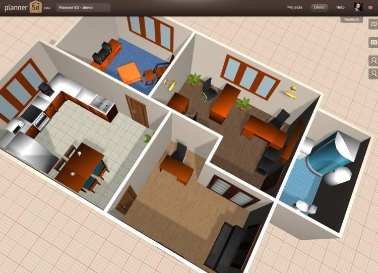 Программы для дизайна интерьера - фото примеров