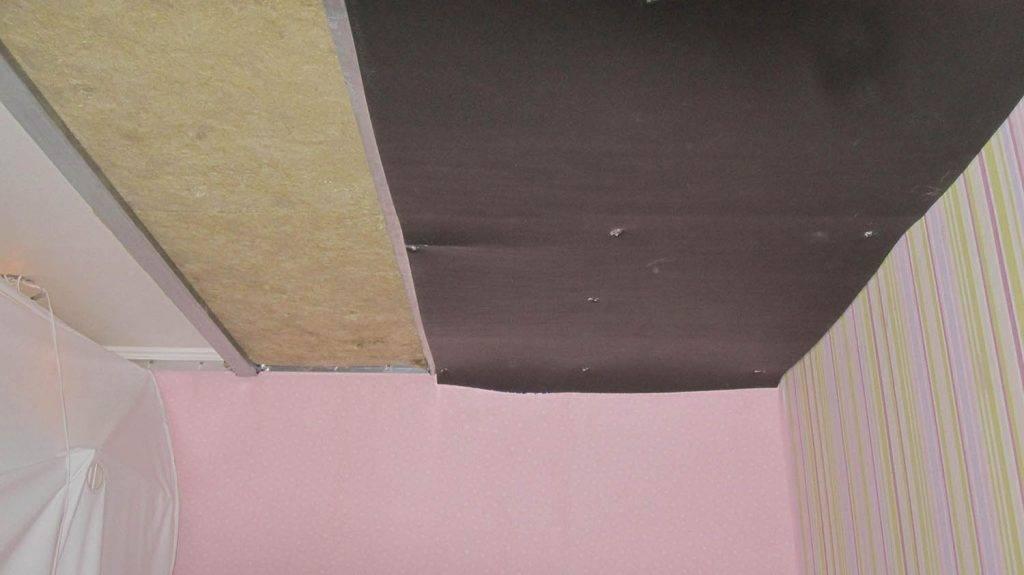 Как устроена звукоизоляция натяжных потолков в квартире, фото и видео примеры