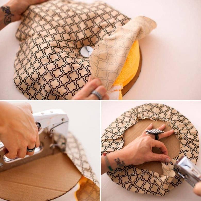 Как сделать пуфик своими руками - лучшие варианты, 10 мастер-классов!
