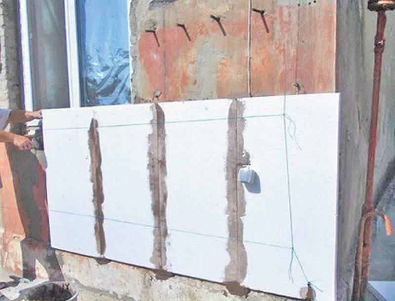 Штукатурка по пенопласту фасадная: технология нанесения пошагово