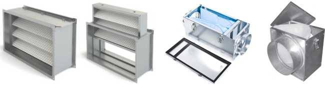 Воздушные фильтры для систем вентиляции