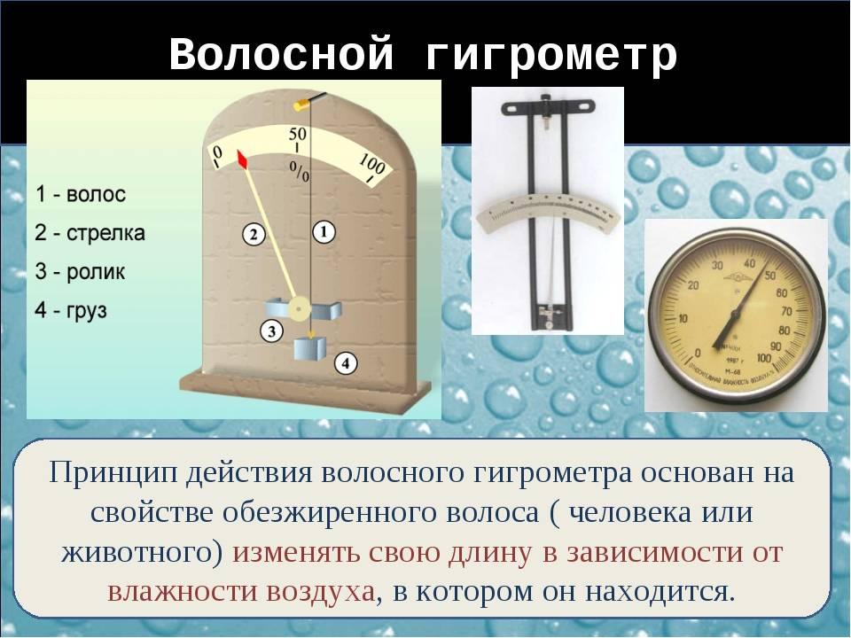 Измеритель влажности (гигрометр) своими руками