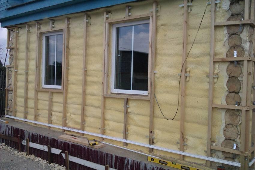 Утепление брусового дома снаружи своими руками, как правильно утеплить дом снаружи