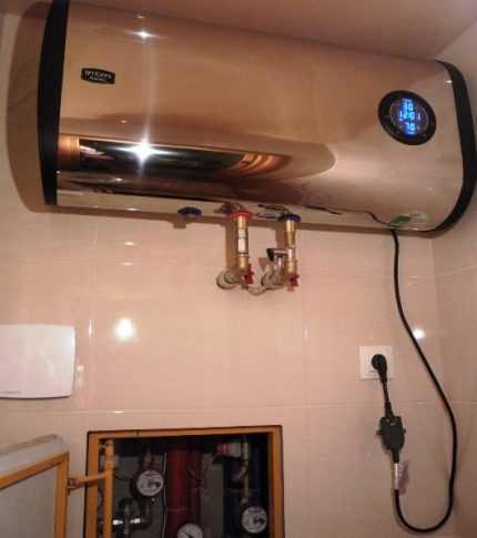 Установка проточного водонагревателя в частном доме — рассмотрим по полочкам