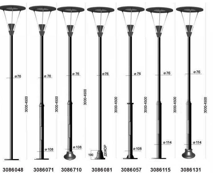 Как работают уличные фонари на солнечных батареях | auto-gl.ru