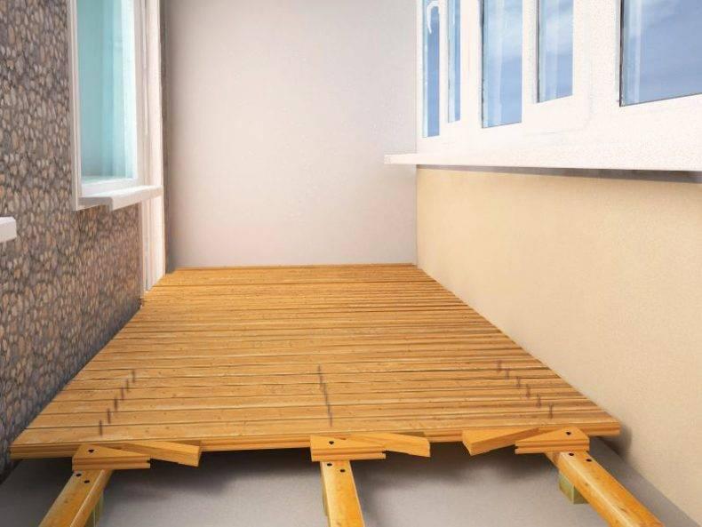 Как и из чего сделать пол на балконе своими руками: пошаговое руководство