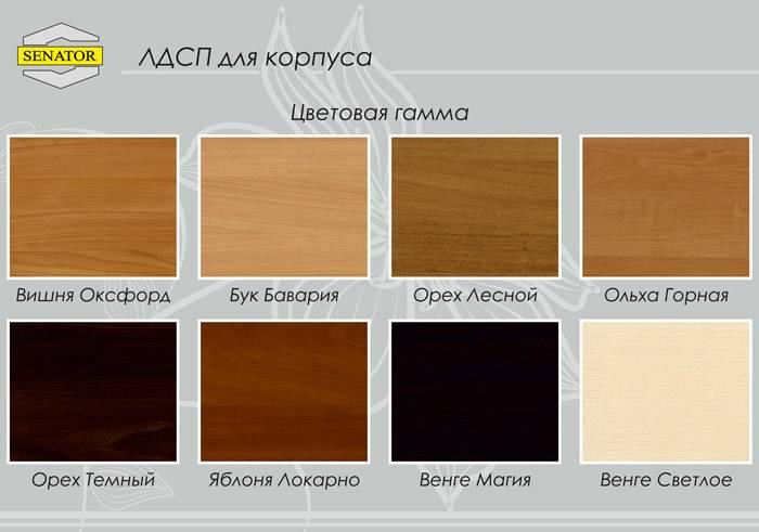 Лдсп: виды и выбор ламинированных плит дсп