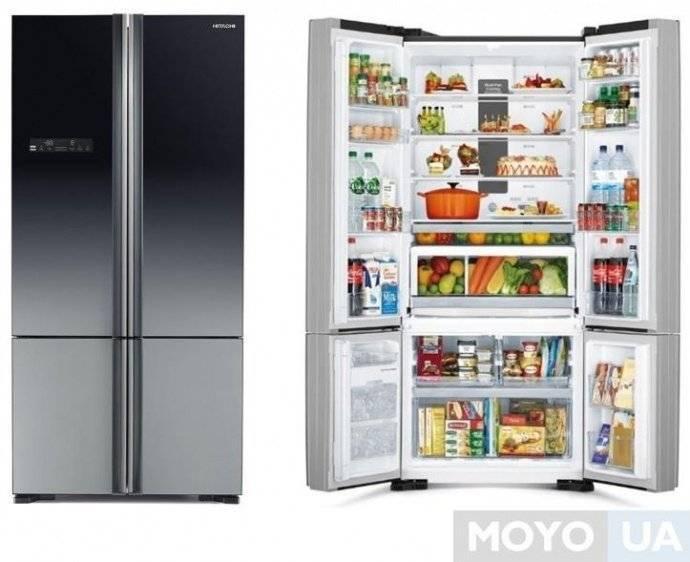 Умный двухстворчатый холодильник – максимум комфорта на кухне
