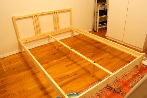 Кровать своими руками - как и из чего сделать стильную самодельную кровать (75 фото)
