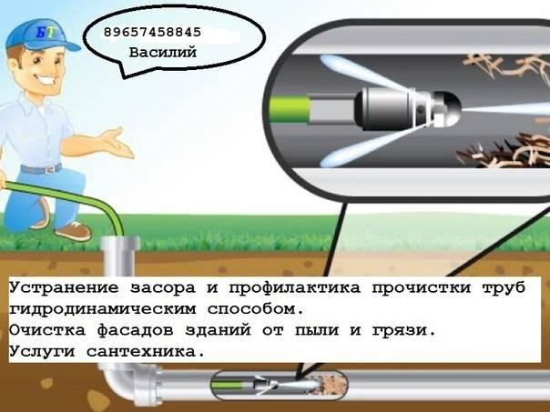 Самостоятельная прочистка канализационных труб – 3 доступных способа плюс химические реагенты