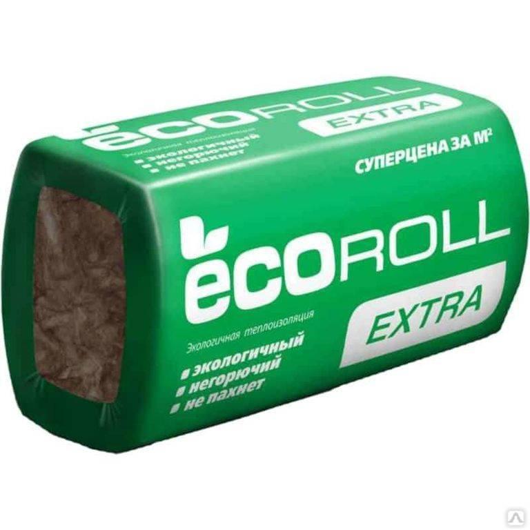 Применение утеплителя экоролл и его технические характеристики