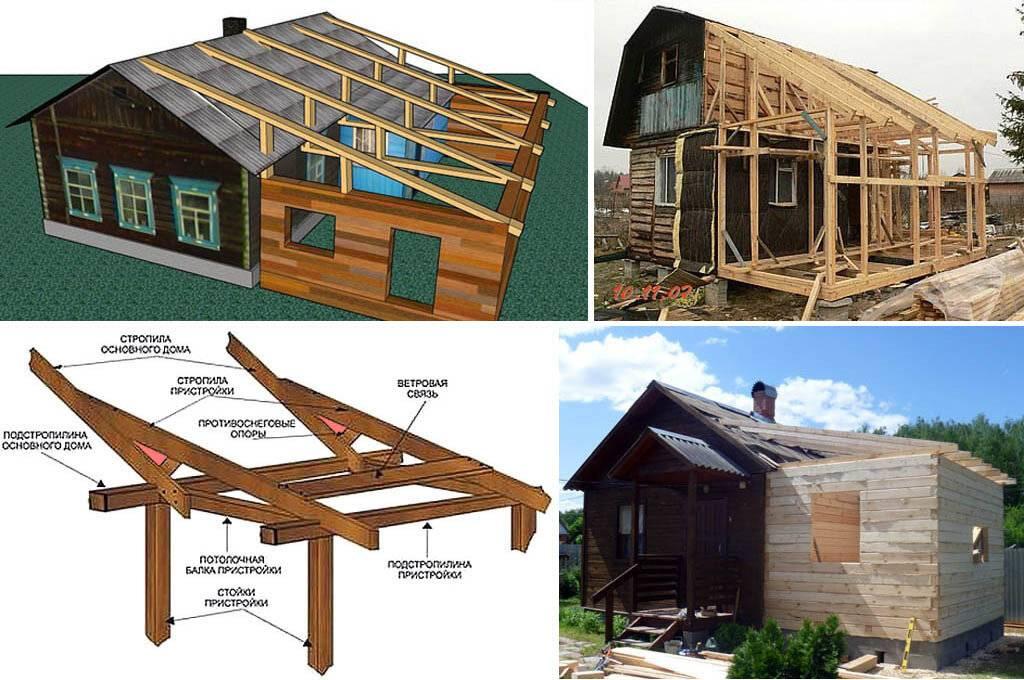Стыковка крыши пристройки с крышей дома - клуб мастеров