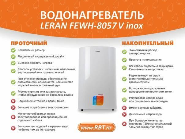 Как правильно пользоваться накопительным и проточным водонагревателем: советы эксперта
