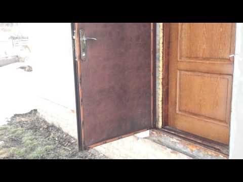 Как сварить дверь из металла