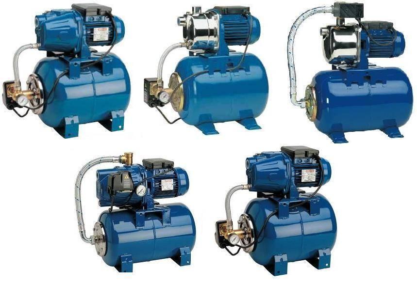 Насосы для повышения давления воды в водопроводе - типы, режимы, применение, установка