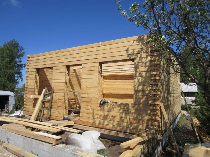 Строим дом из бруса