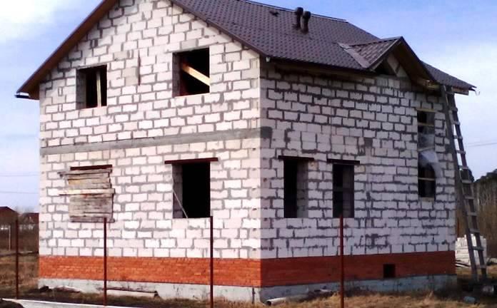 Отделка дома из газобетона внутри