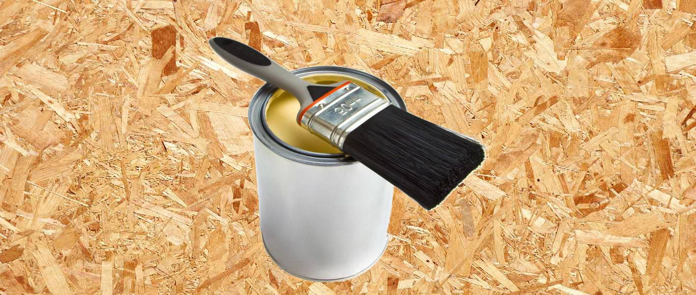 Чем покрасить осб плиту - выбор и нанесение материала