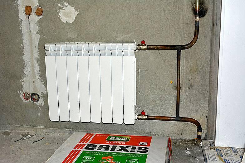Установка радиаторов отопления: подробная инструкция