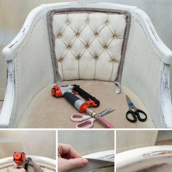 Как перетянуть диван своими руками самостоятельно: фото и как самому в домашних условиях правильно пошагово обновить старые подлокотники, угловую и пружинную модель?