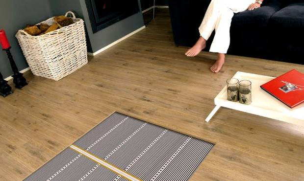 Инфракрасный теплый пол под плитку видео монтаж и особенности системы