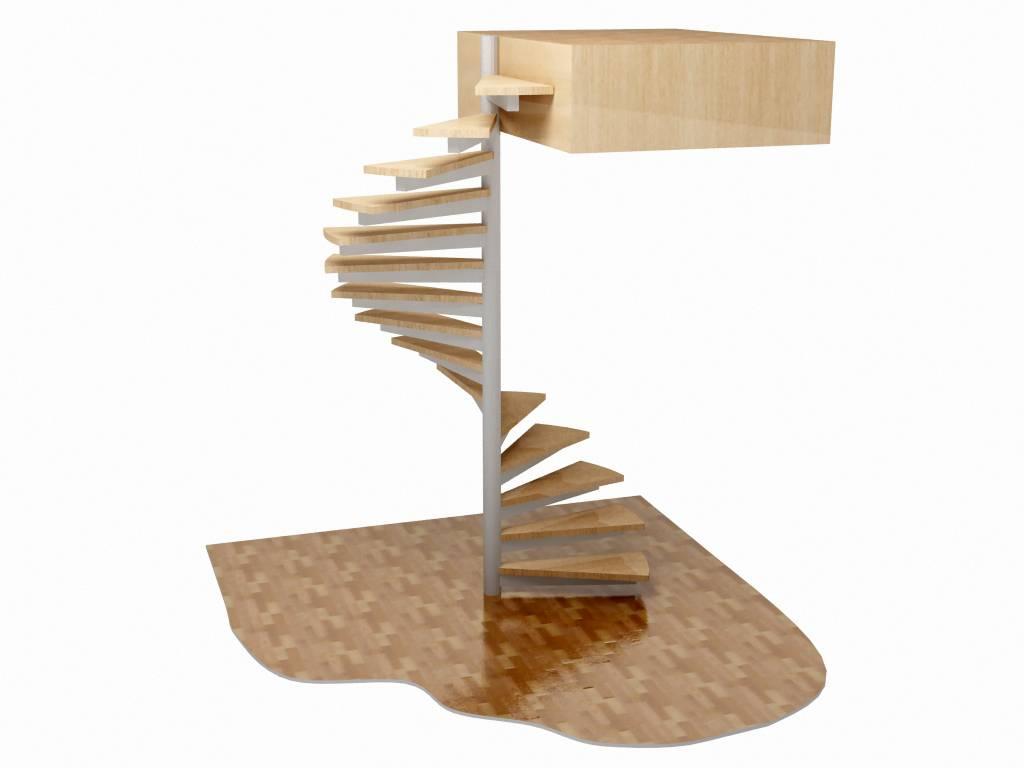 Как сделать винтовую лестницу своими руками