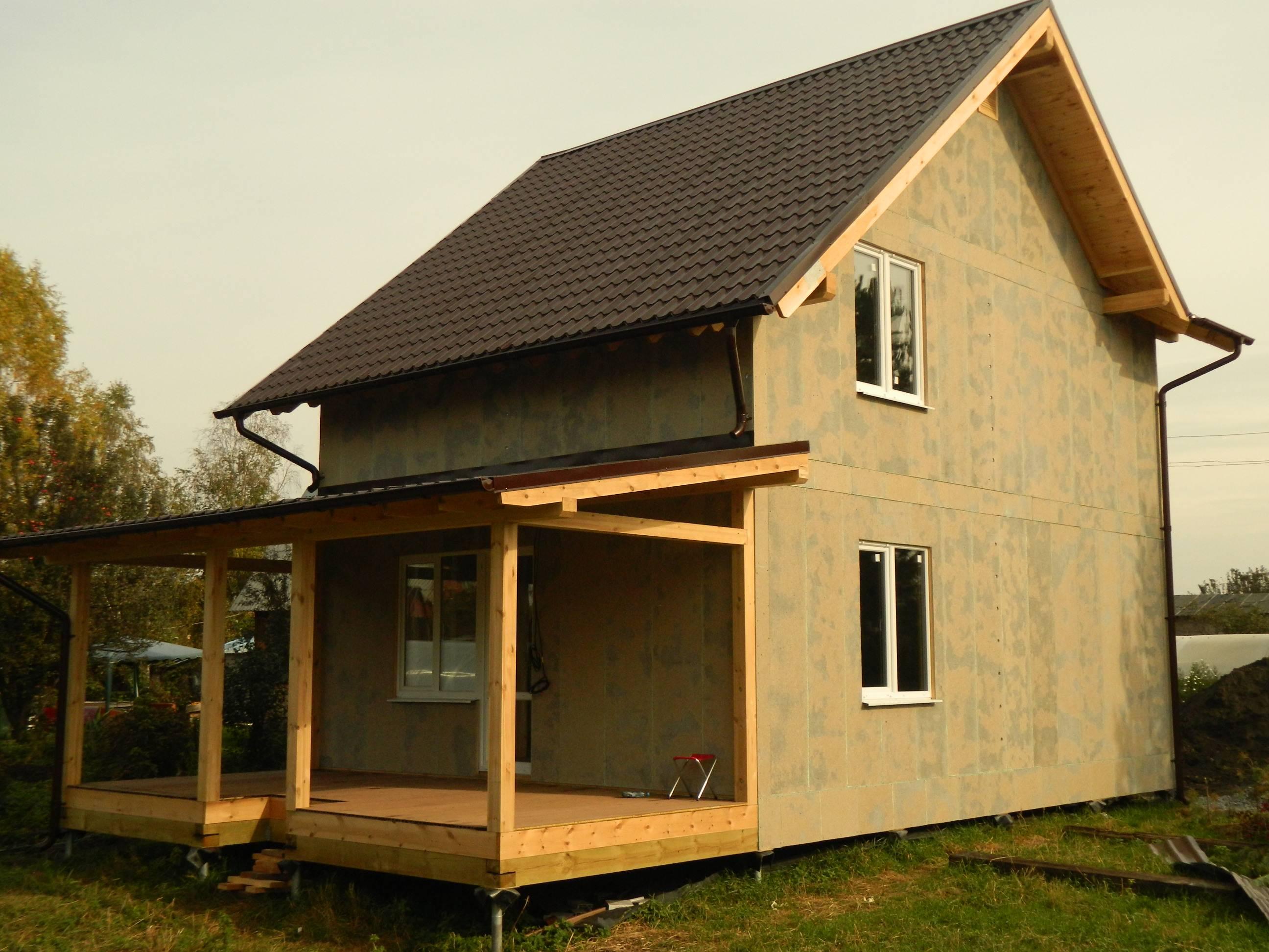 Каркасный домик своими руками: пошаговая инструкция