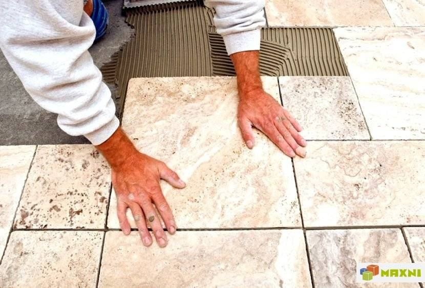 Укладка керамогранита на пол: пошаговая инструкция - все про керамическую плитку