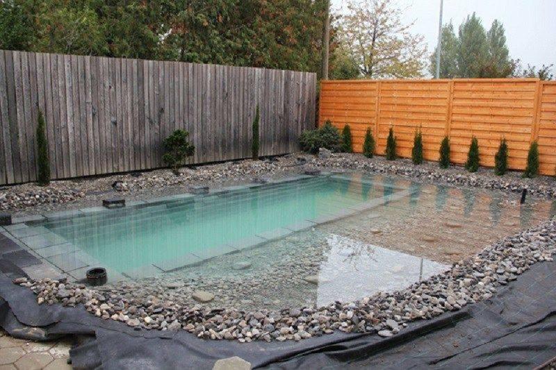 Как самостоятельно сделать бассейн на даче