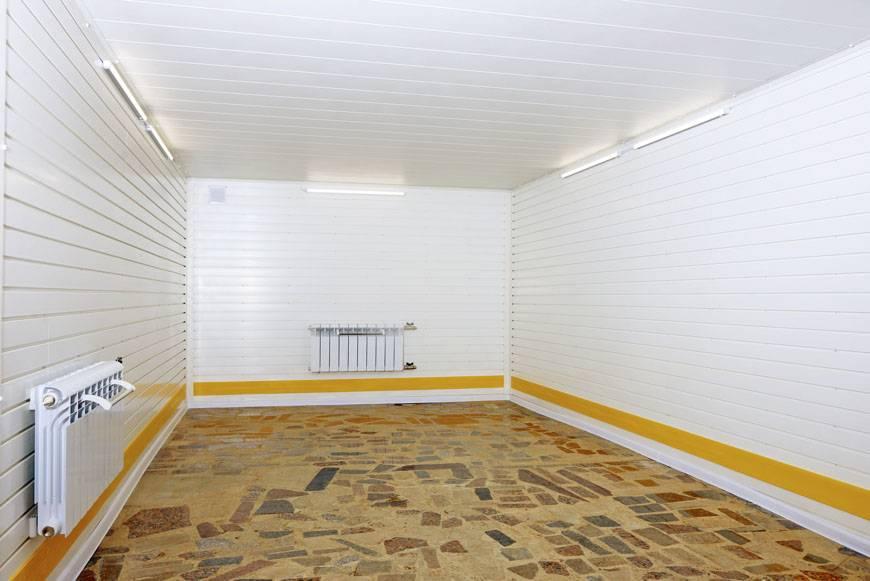 Как и чем обшить гараж изнутри недорого? подбор материалов