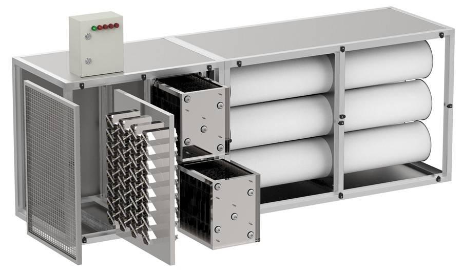 О воздушных фильтрах для систем вентиляции