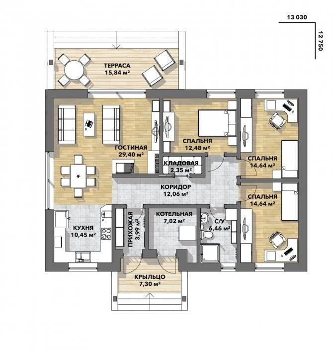 Планировка дома и коттеджей: советы, готовые решения и фото