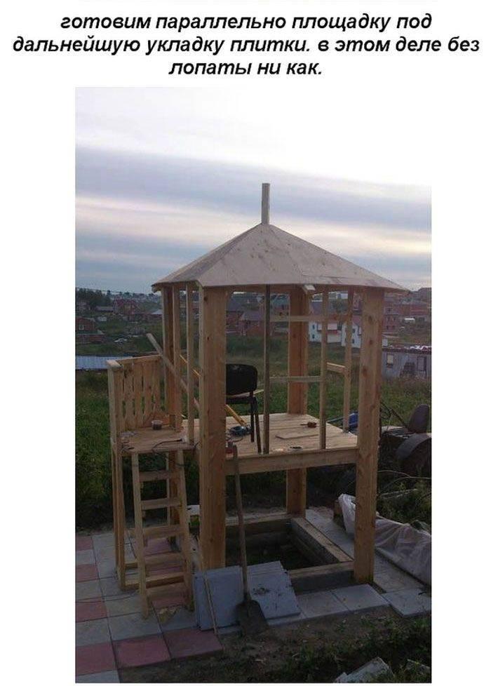 Детский игровой домик на даче. делаем постройку для ребенка своими руками