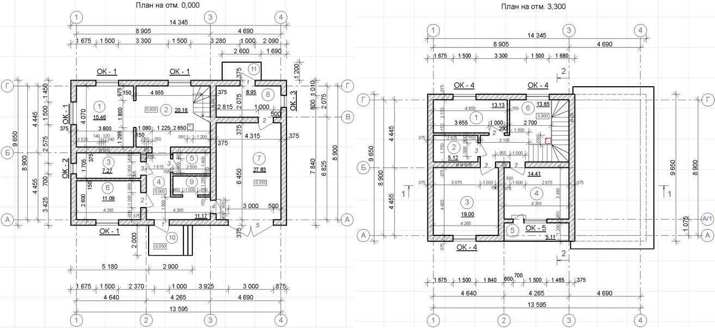 Как определить несущие стены дома и их стандартную толщину