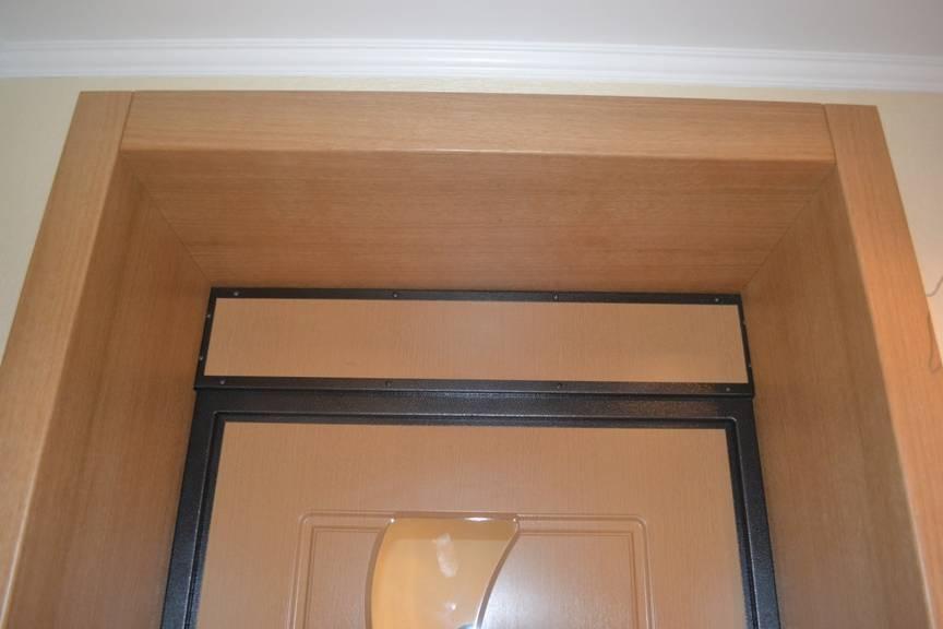 Как обшить откосы входной двери - клуб мастеров