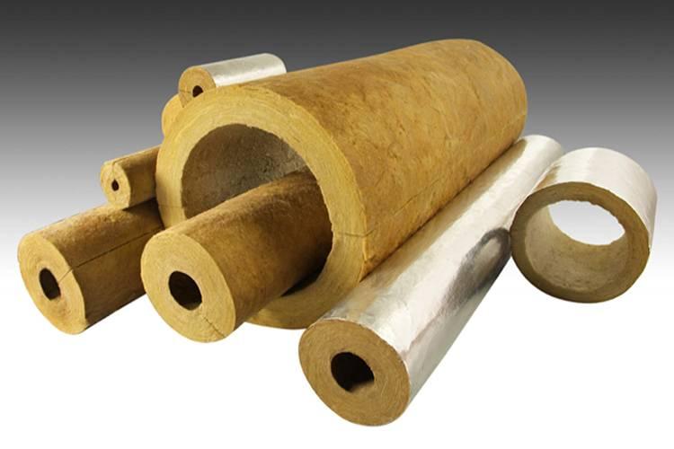 Минераловатные цилиндры: кашированные алюминиевой фольгой и другие цилиндры из минеральной ваты для труб, их производство