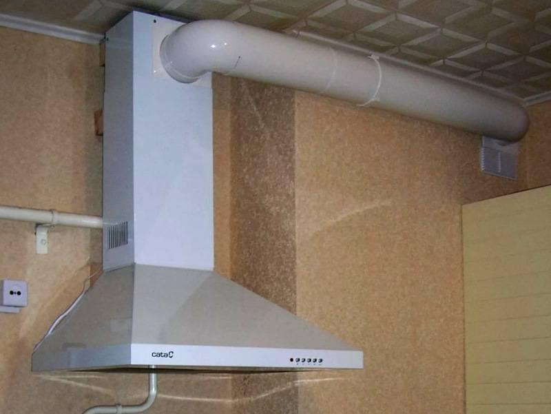 На какой высоте устанавливают вытяжку на кухне