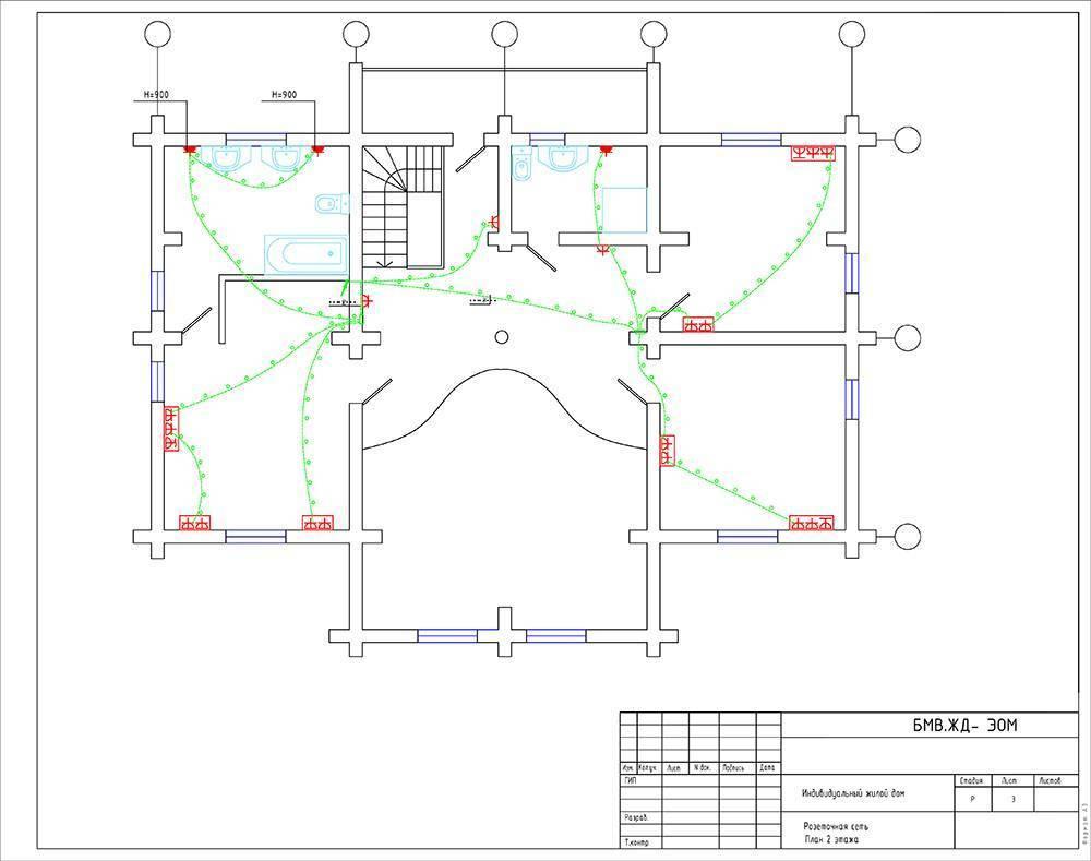 Схема электропроводки частного дома: тонкости и порядок проектирования