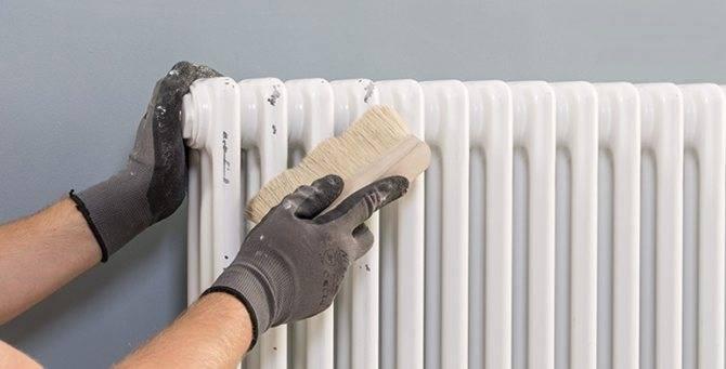 Как красить батареи отопления – выбор краски и пошаговое руководство, как покрасить радиатор правильно