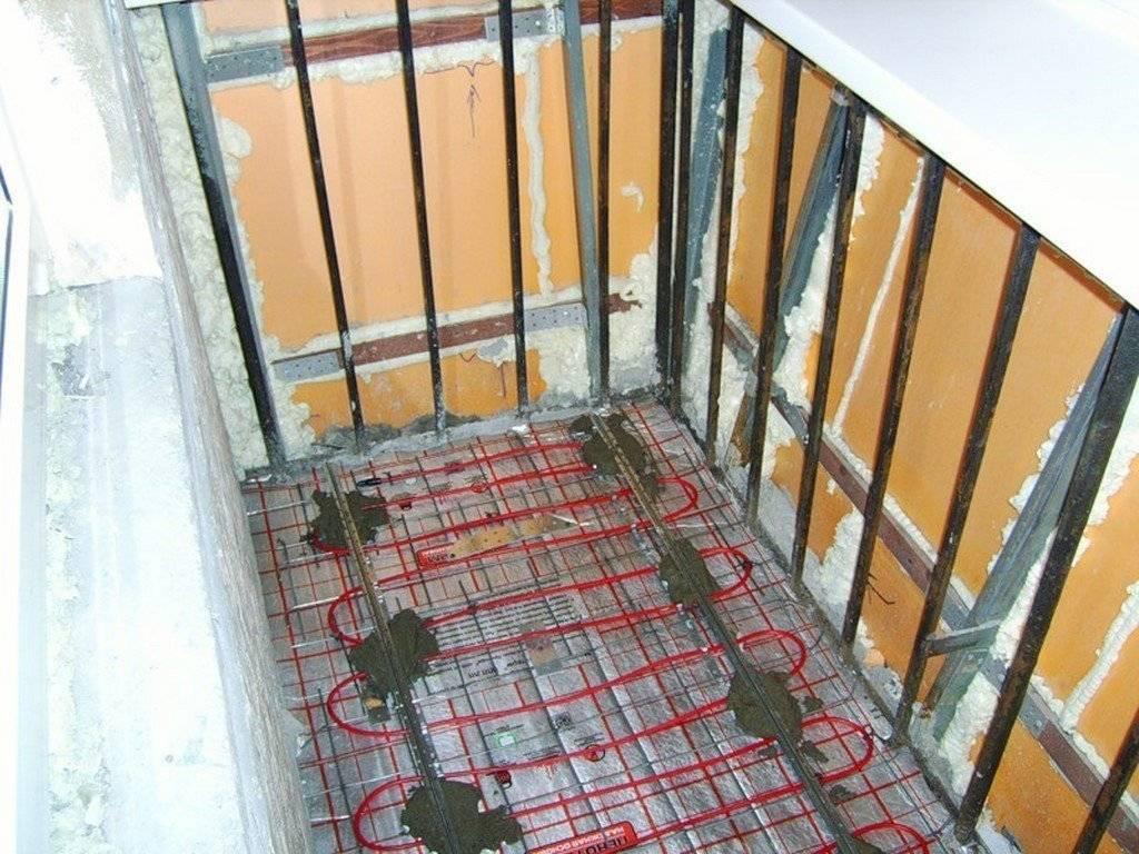 Теплый пол для балкона какой лучше - клуб мастеров