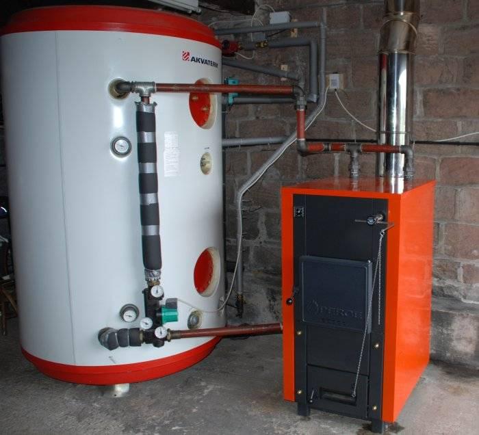 Теплоаккумулятор для отопления, схема, установка системы своими руками