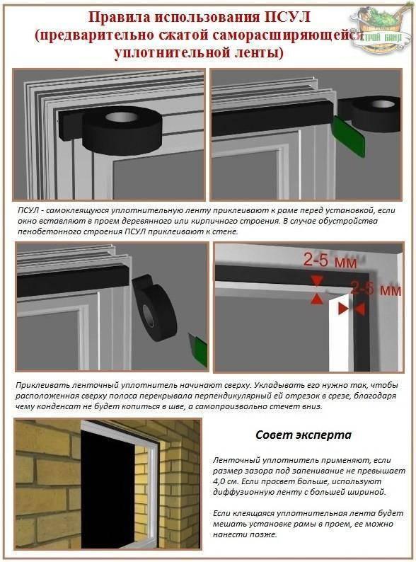 Как устанавливать пластиковые окна? установка пластиковых окон своими руками - инструкция :: syl.ru