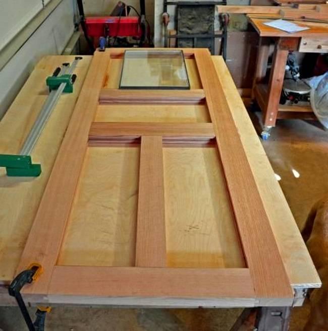 Технология изготовления филенчатых дверей своими руками