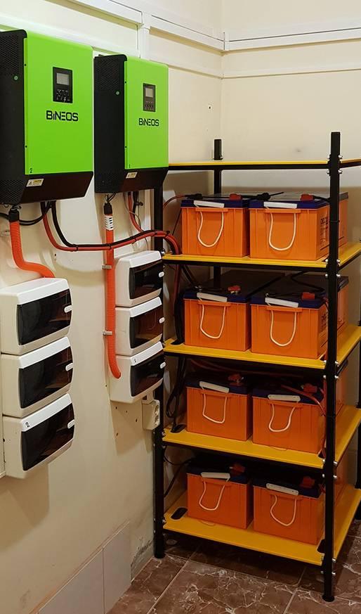 Накопитель энергии для дома при отключении электричества