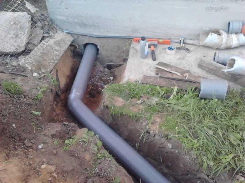 Установка канализации в частном доме своими руками: как установить канализацию, пошаговая инструкция
