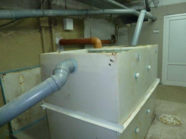 Жироуловители для канализации от нпо промышленная водоочистка