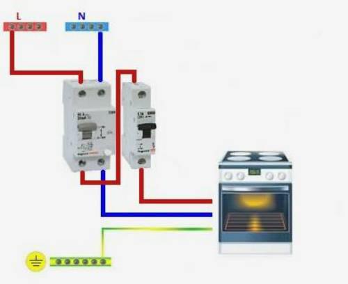Как подключить электроплиту к бытовой однофазной сети— пошаговая инструкция