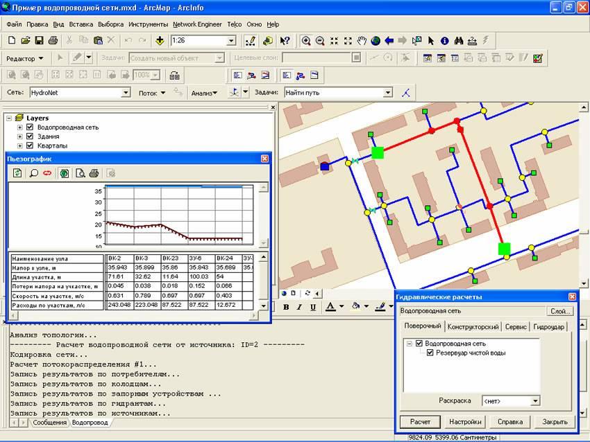 Расчет и проектирование внутреннего водопровода