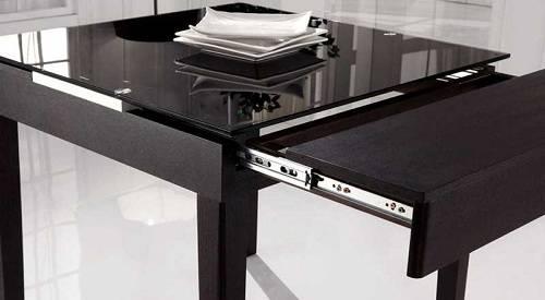 Современный дизайн стола для маленьких кухонь